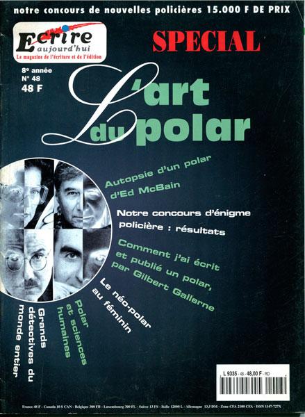 Ecrire magazine - l'art du polar